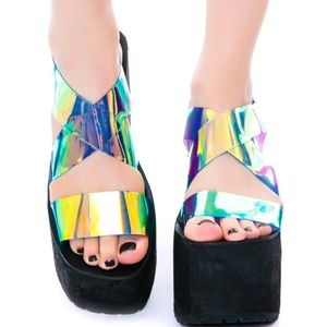 UNIF Vapor Platform Sandals